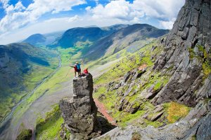 Guiding Trail Magazine on Napes Needle, the Lakes - Photo - Ben Winston