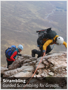 Guided Scrambling for Groups