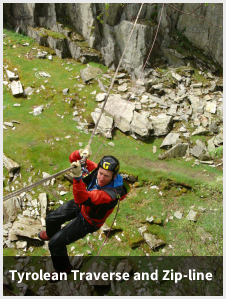 Tyrolean Traverse and Zip-line