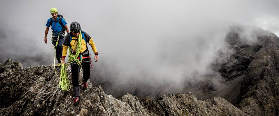 On the Cuillin Ridge with Trail Magazine