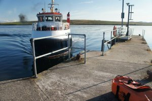 Boat access to Hoy