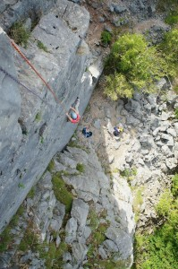 Guided climbing and coaching in the Lakes